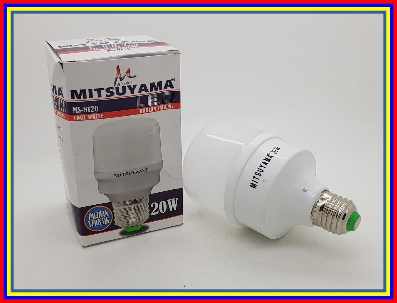 Lampu Led Capsul 20 Watt Merk Mitsuyama Cahaya Putih