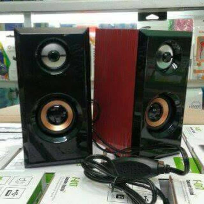 Referensi sepiker fleco fo17 speaker aktif / speaker laptop / speaker super bass