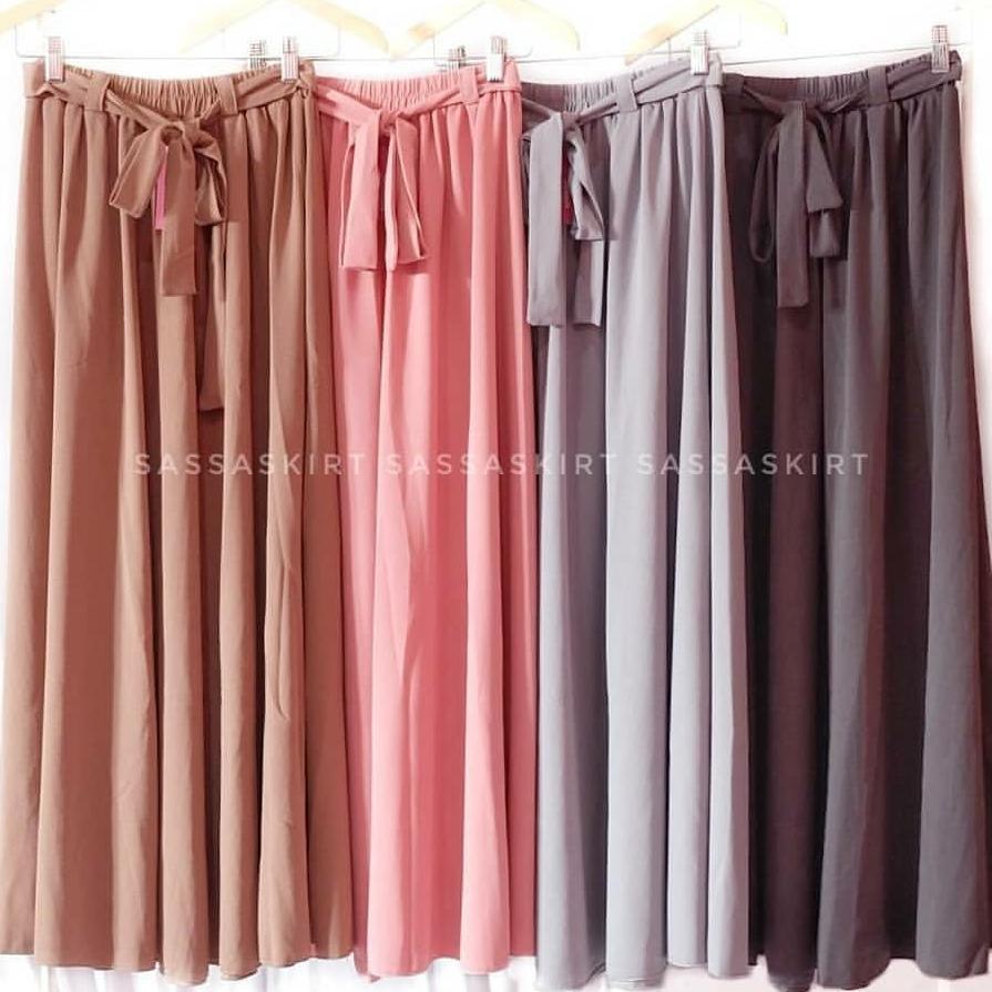 58879b5225 Rok kerja panjang wanita muslimah - Long skirt by sasa wanita panjang model  payung All size