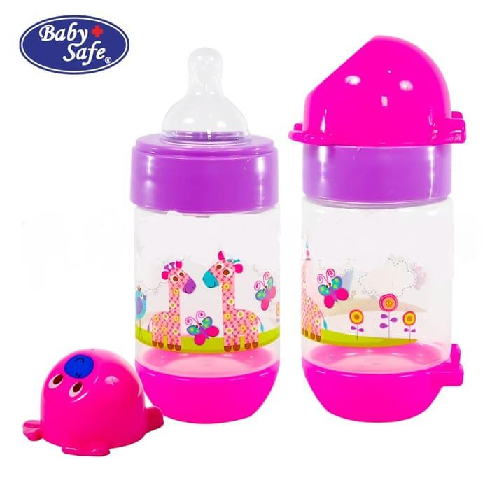 Baby Safe Botol Susu Bayi / Feeding Bottle Regular Ukuran 125ml - AP001 - Babyklik