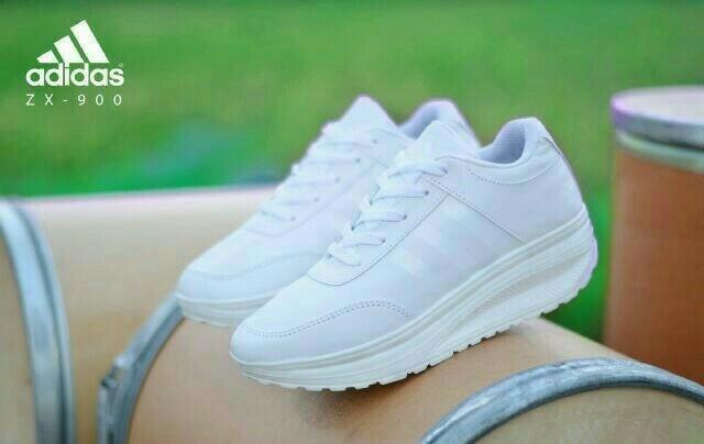 best seller- ADDS ZX SPORT PUTIH  sepatu jalan wanita  sepatu sneakers    sepatu 690bf6b4fb