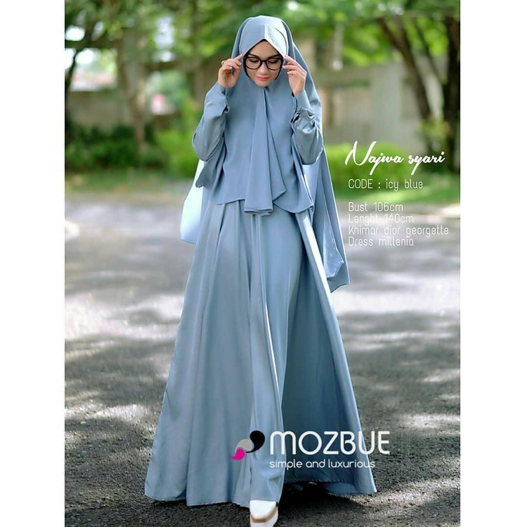 Cek Harga Baru Baju Original Gamis Ajwa Syari Dress Baju Panjang