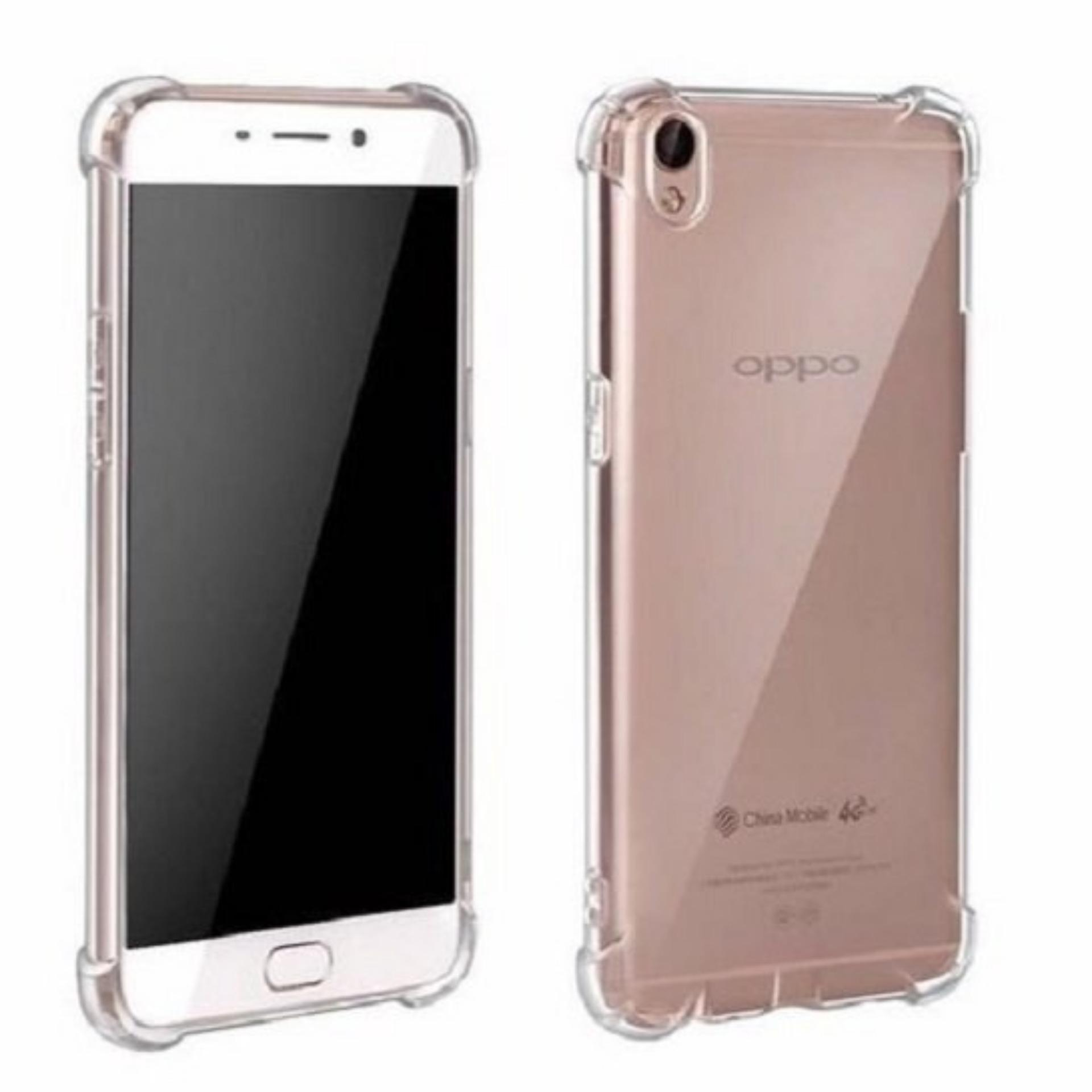 ShockCase for Oppo F1+ Plus / R9 | Premium Softcase Jelly Anti Crack Shockproof - Transparan