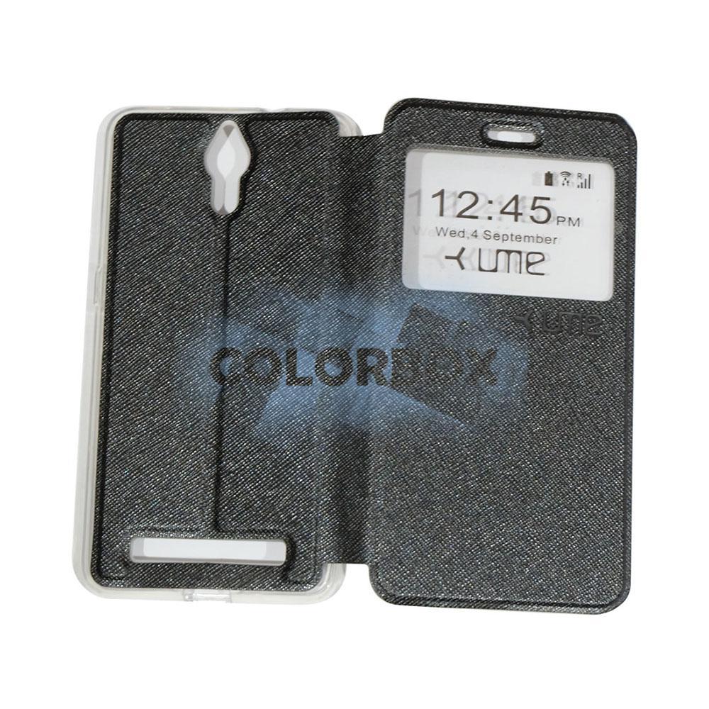 Ume Flip Leather Phone Cover CoolPad Roar Plus E570 Sarung Case / Flipshell Coolpad Roar Plus