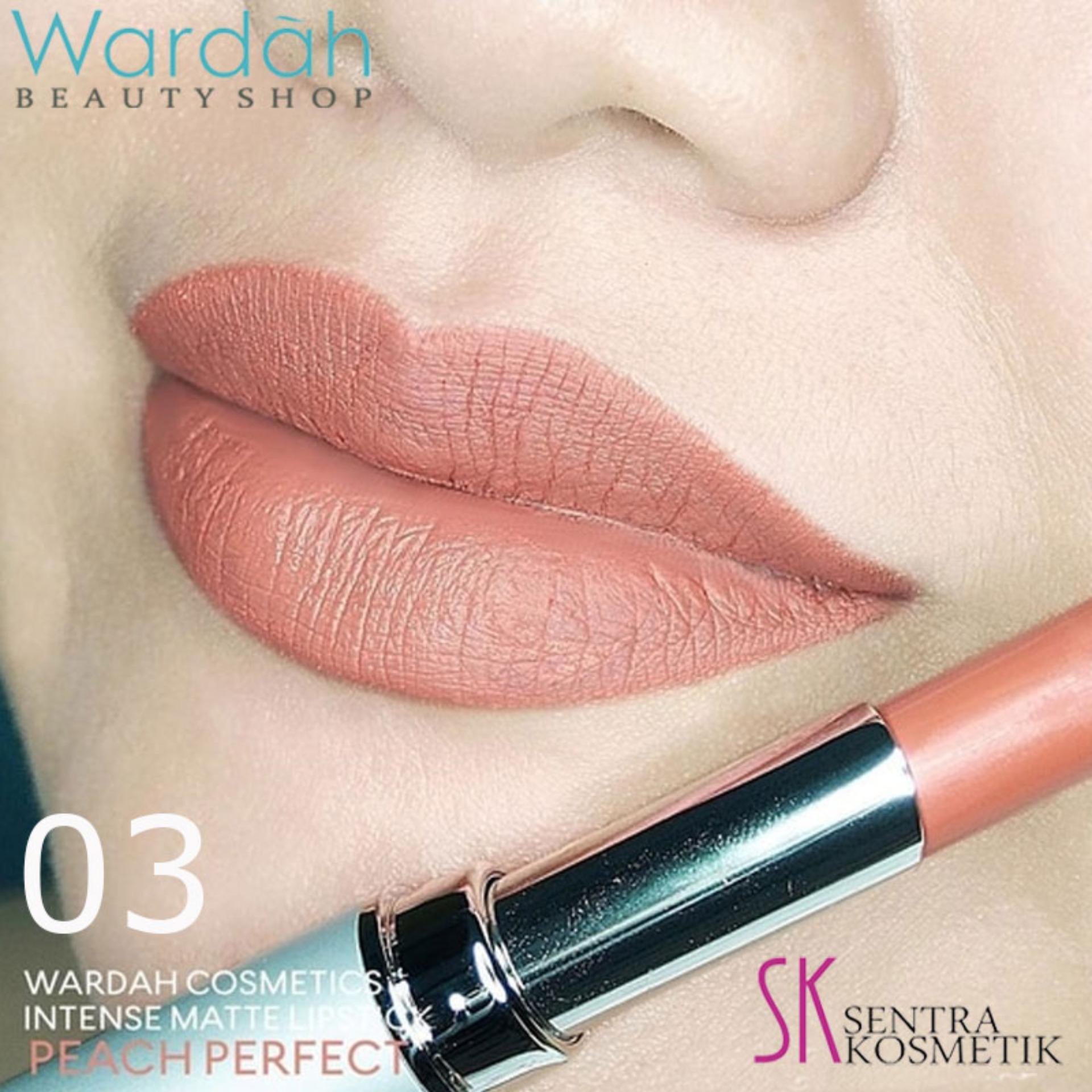 ... Paket Lipstick Matte No 01 Soft Pink Dan Matte No 04 Orange Source Wardah INTENSE MATTE