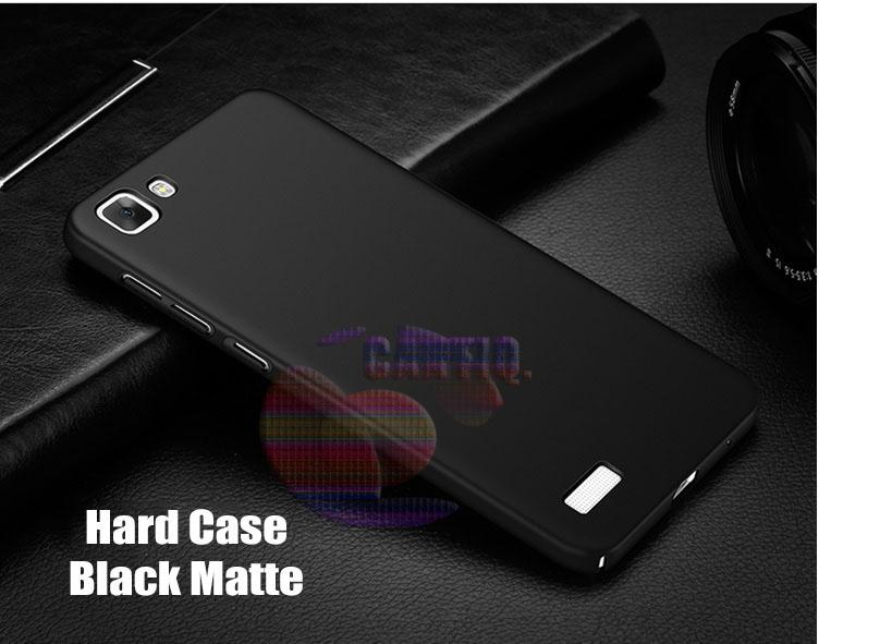 Case Vivo Y35 Hard Slim Black Mate Anti Fingerprint Hybrid Case Baby Skin Vivo Y35 Baby