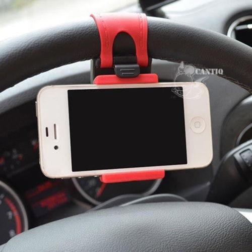 QCF Universal Car Holder Mobil Untuk HP / GPS Car Holder / Bike Holder / Holder