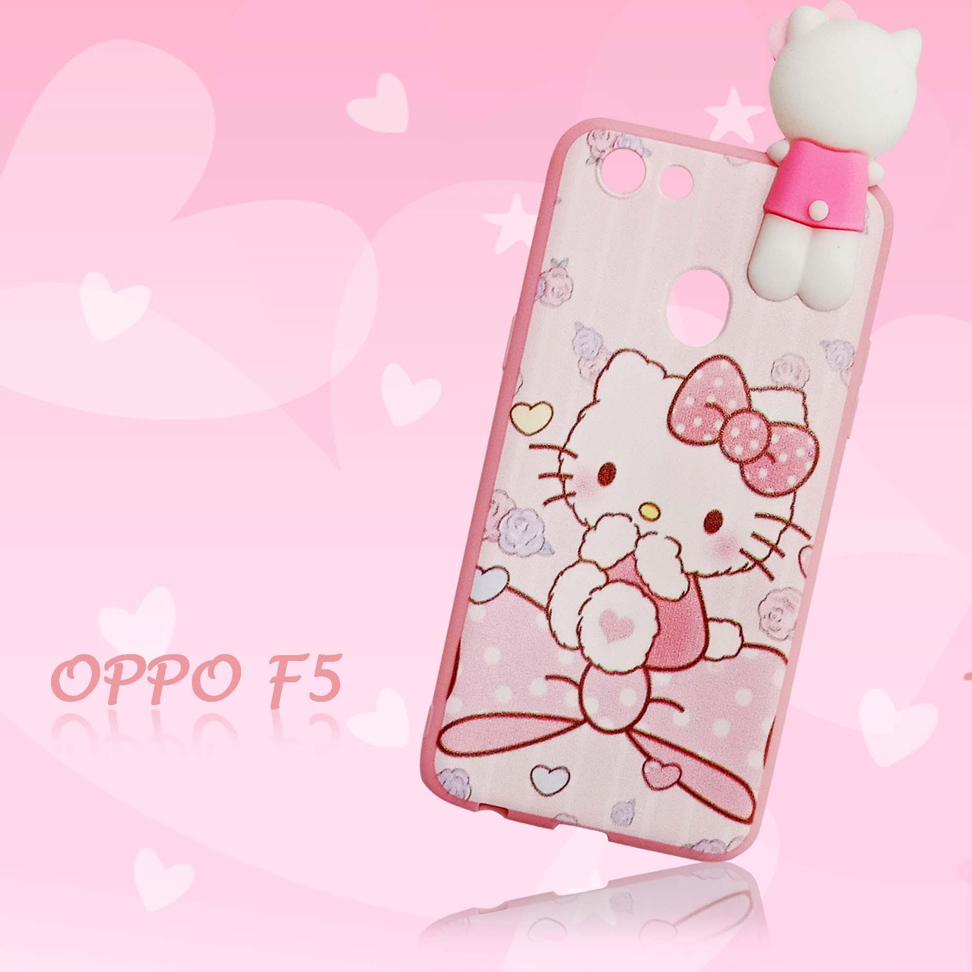 Marintri Case Oppo F5 Hello Kitty Cute