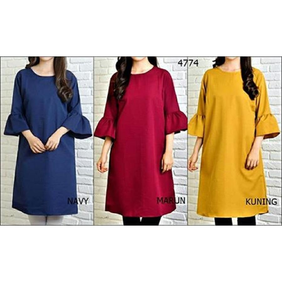 WANITA JUMBO FASHION. Source · COUPLELOVER-BLOUSE JUMBO TUNIK SHIZUKA -