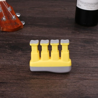 3Colors Force Adjustable Prohands Finger Training For Piano Guitar Grips - intl