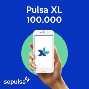 XL Pulsa Electric Rp. 100.000 (Max. 1 kali Pembelian Per Nomor Handphone)