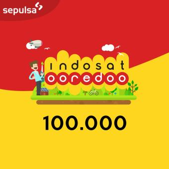Indosat Ooredoo Pulsa Electric Rp. 100.000 (Max. 1 kali Pembelian Per Nomor Handphone)