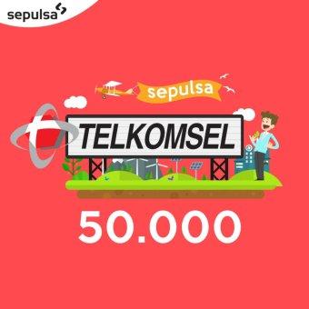 Telkomsel Pulsa 50.000 (Max. 1 kali Pembelian Per Nomor Handphone)