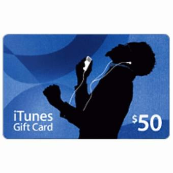 iTunes Gift Card (US) $50 - Digital Code