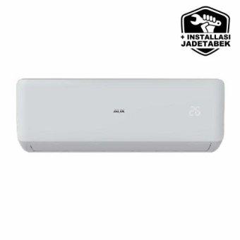harga AUX ASW-5A4-FAR1 + Pasang (Pipa&Kabel 3m, Bracket, Duct Tape) AC Split 1/2 PK Low Watt - Putih (Khusus Jabodetabek) Lazada.co.id