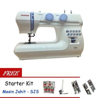 Janome 1008 Mesin Jahit Portable + Gratis SJS Starter Kit