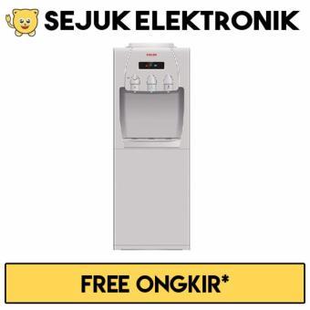 Sanken HWD-760 Dispenser Air Galon Atas - Silver (JADETABEK ONLY)