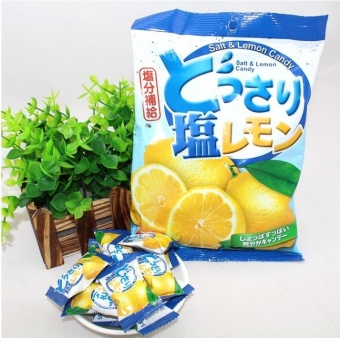 COCON Salt & Lemon Candy 150g - Permen Rasa Lemon dan Garam Impor Murah