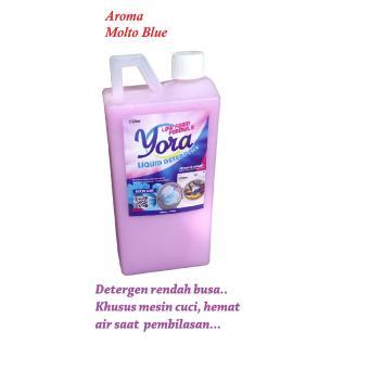 RINSO Molto Cair Bottle 1000 ml. Source · Detergen Cair, LOW FOAM, u/ mesin cuci, Molto Blue, 1 liter