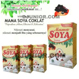 MAMA SOYA - MAMASOYA - SUSU KEDELAI IBU MENYUSUI ASI BOOSTER RASA COKLAT ( HARGA PAKET