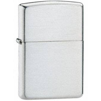 Zippo Korek Api Regular Anti Angin Metal - Silver