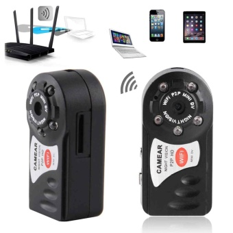1x Mini IP Camera Wifi Micro SD CCTV Security Camera WirelessWebcam Audio HD - intl
