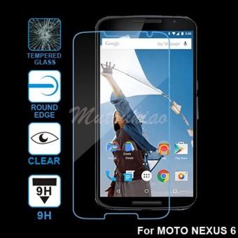 2pcs/lot For Motorola Moto Nexus 6 9H Premium Tempered Glass Screen Protector Film -