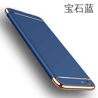 3 in 1 Ultra thin PC hard cover case phone case for Vivo v5 lite/Y66(Blue) - intl