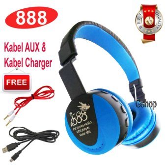888 Bluetooth KSD- 668B Stereo Headphone Support Micro SD ROPS EDR Buil-In Mikrofon MP3 FM Headset