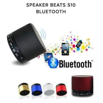 A10 Mini Metal Bluetooth Speaker Handsfree Subwoofer Wireless Music Sound Box Support Micro SD / TF Card Audio Player ox Support SD Card - intl