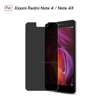 Accessories Hp ANTI SPY Tempered Glass Premium Screen Protector Privacy For Xiaomi Redmi Note 4 /