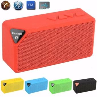 Ace Discoball X3 MINI Speaker Bluetooth TF USB FM Wireless Musik Portabel Kotak Suara Pengeras Suara