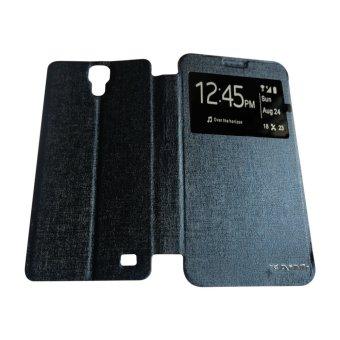 Aimi Untuk Samsung Galaxy G7508 / Mega 2 Flipshell / Flipcover / Sarung Case - Dark