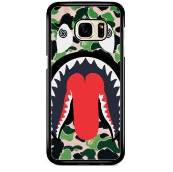 Bape Shark J0045 Samsung Galaxy S7 Edge Custom Hard Case