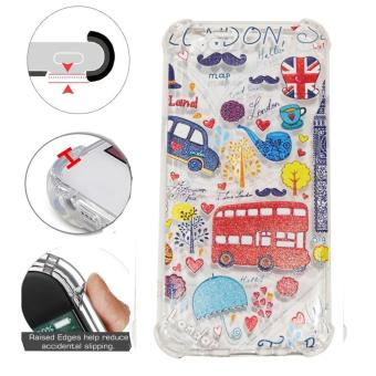 Beauty Case Anti Crack Oppo A39 Case 3D Luxury Animasi London Bus Inggris Softcase Anti Jamur