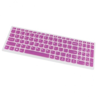 BolehDeals Keyboard Cover Silicone Skin Protector for Lenovo510SLaptop Notebook Slim 3 - intl