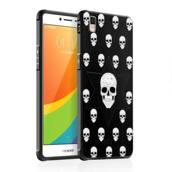 BYT Silicon Debossed Printing Cover Case for Oppo R7s - intl