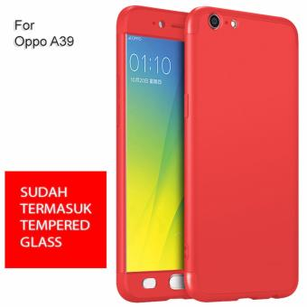 Calandiva Premium Front Back 360 Degree Full Protection Case Quality Grade A for OPPO A39 -