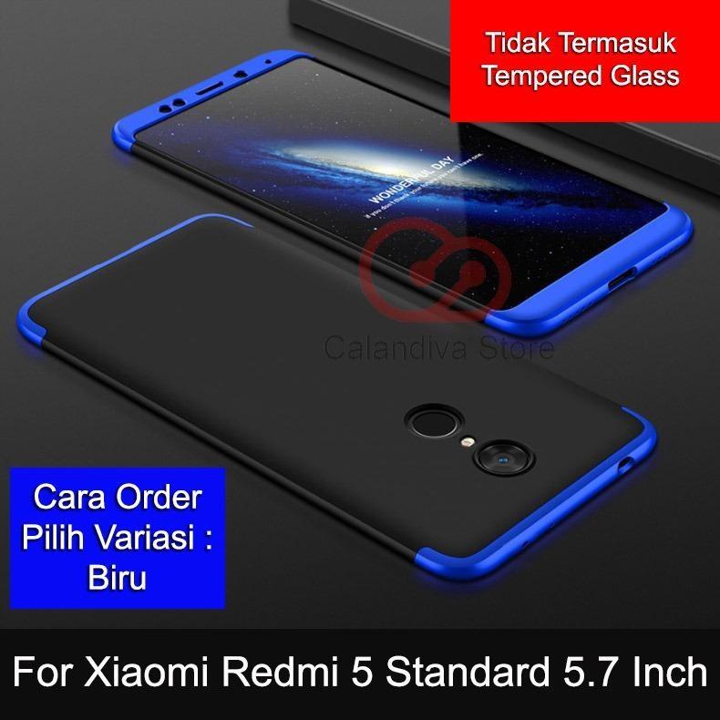 Calandiva Premium Front Back 360 Degree Full Protection Case Quality Grade A for Xiaomi Redmi 5
