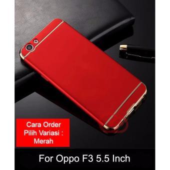 Calandiva Premium Quality Elegance Protection Hardcase for Oppo F3 (5.5 Inch )