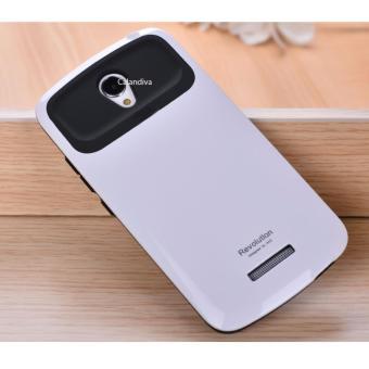 Calandiva Slim Armor Revolution Case for Xiaomi Redmi Note 2 / Pro / Prime - Putih