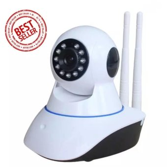 Camera CCTV Dual Antenna WIFI 2 Antena 720P HD IR Night Vision