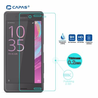 CAPAS Tempered Glass for Sony Xperia X Performance Dual F8132Screen Protector Glass Protective Film ExplosionProof -
