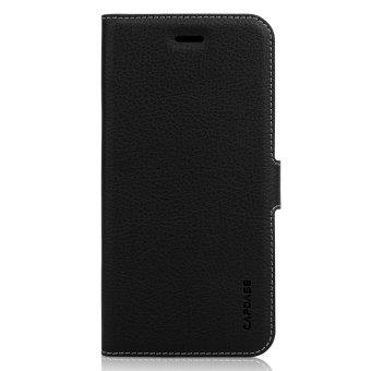 Capdase Folder Case iPhone 6 Plus Sider Eternity Flip Case Leather - Hitam