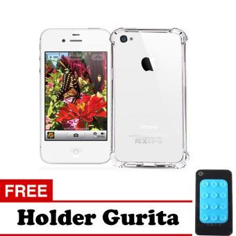 Case Anti Crack / Anti Shock Elegant Softcase Apple iPhone 4 / 4s / 4G -