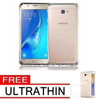 Case Anti Shock / Anti Crack Elegant Softcase for Samsung Galaxy J5 Prime - White Clear