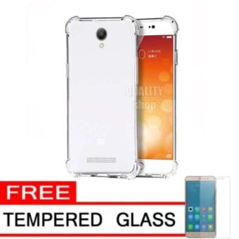Case Anti Shock / Anti Crack Elegant Softcase for Xiaomi Redmi Note 2 - Clear +
