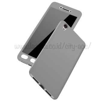 Case Front Back 360 Degree Full Protection for OPPO Neo 9 ( A37 ) - Silver