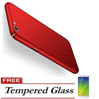 Case Hard Frosted PC Back Cover 360 Full Protection Housing For OPPO F1s / A59 -