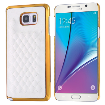 Case Ultrathin Shining Chrome Untuk Samsung Galaxy Note 5 - Gold